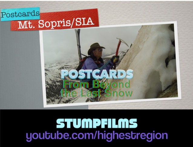 """Postcards from Beyond the Last Snow"" is the latest series from StumpFilms."